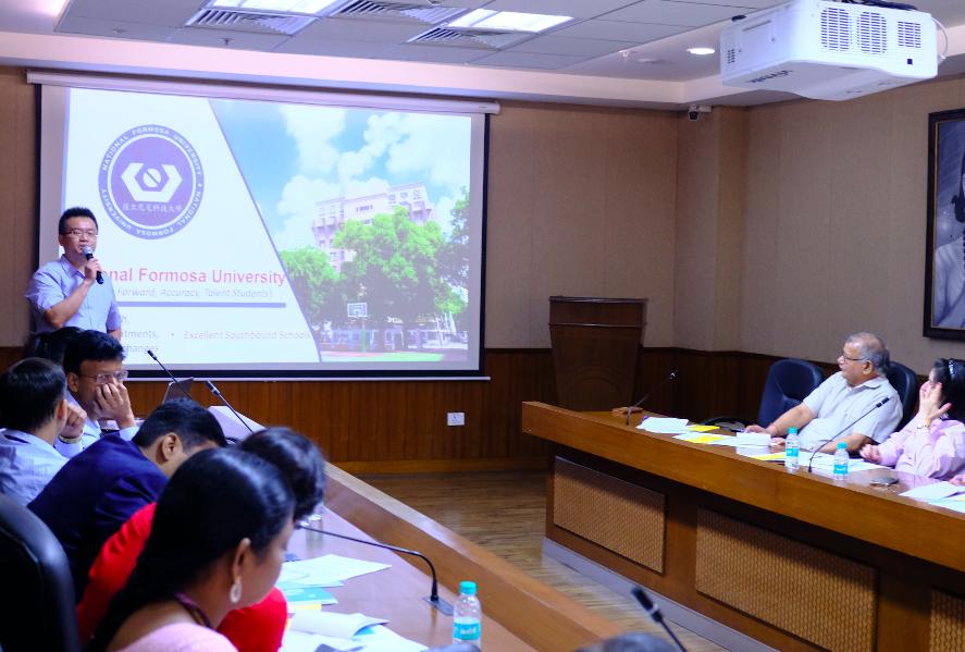 首屆印度-台灣專題研討會,聚焦探討智慧機械領域(圖/中央社)