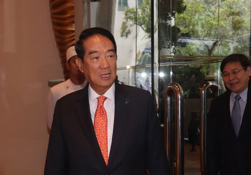 People First Party Chairman James Soong.