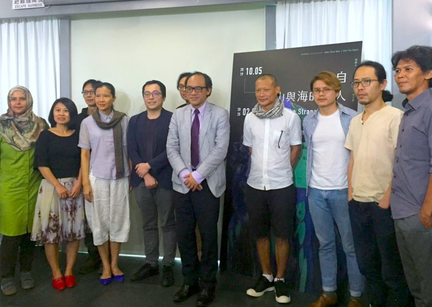 亞洲藝術雙年展定調「來自山與海的異人」,跨國邀請30組藝術家展出(圖/台灣英文新聞Lyla)