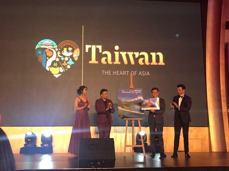 台灣獲頒VETA傑出旅遊奬「中東地區最佳新興旅遊目的地」(台灣觀光局照片)