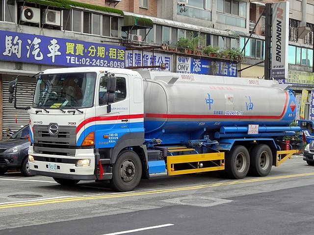 Taiwan CPC truck