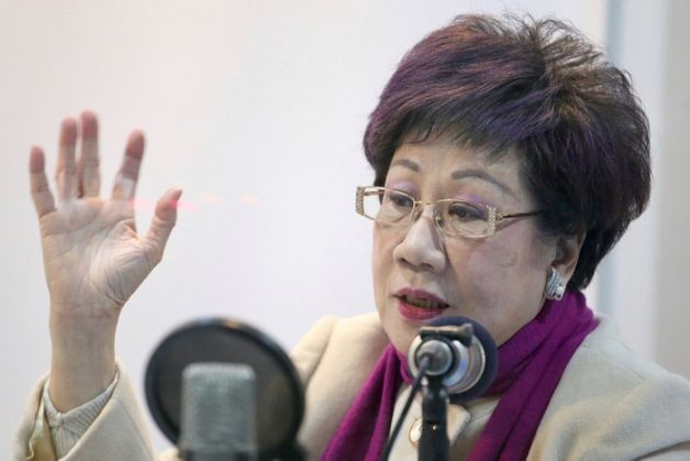 Former vice president Annette Lu.