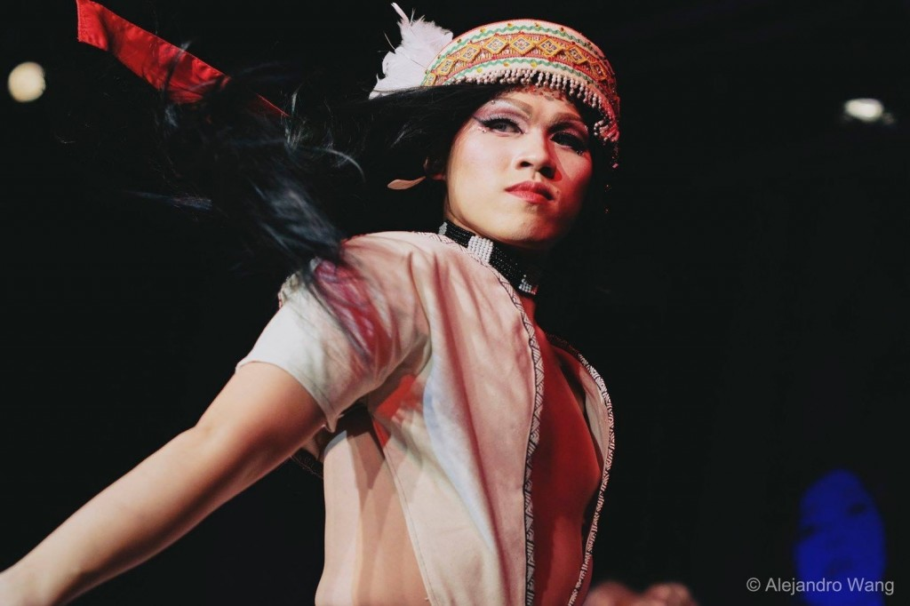 Taiwan's Miss First Nation Rose Mary (Photo: Alejandro Wang)