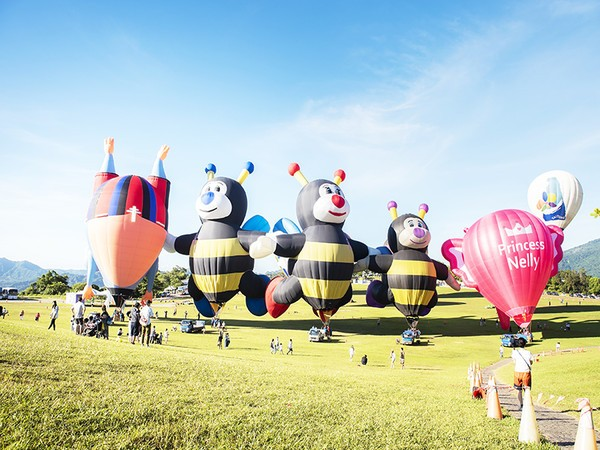 Taiwans Taitung International Balloon Festival fires up on June 29