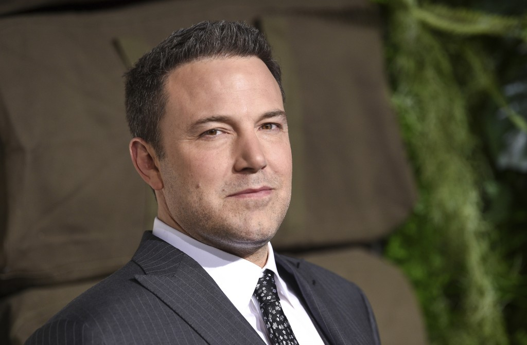 "FILE - In this March 3, 2019, file photo, actor Ben Affleck attends the world premiere of ""Triple Frontier"" at Jazz at Lincoln Center in New York. Fro"