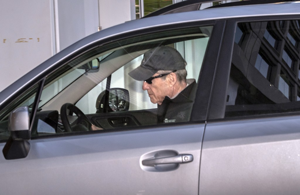 Special counsel Robert Mueller arrives at his office in Washington, Wednesday, April 17, 2019, as his redacted report on Russian interference in the 2
