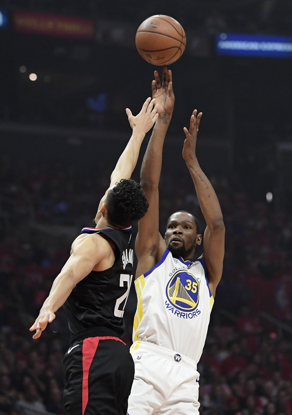 d396b33b2013 ... during the first half in Game 3 of a first. Golden State Warriors  forward Kevin Durant
