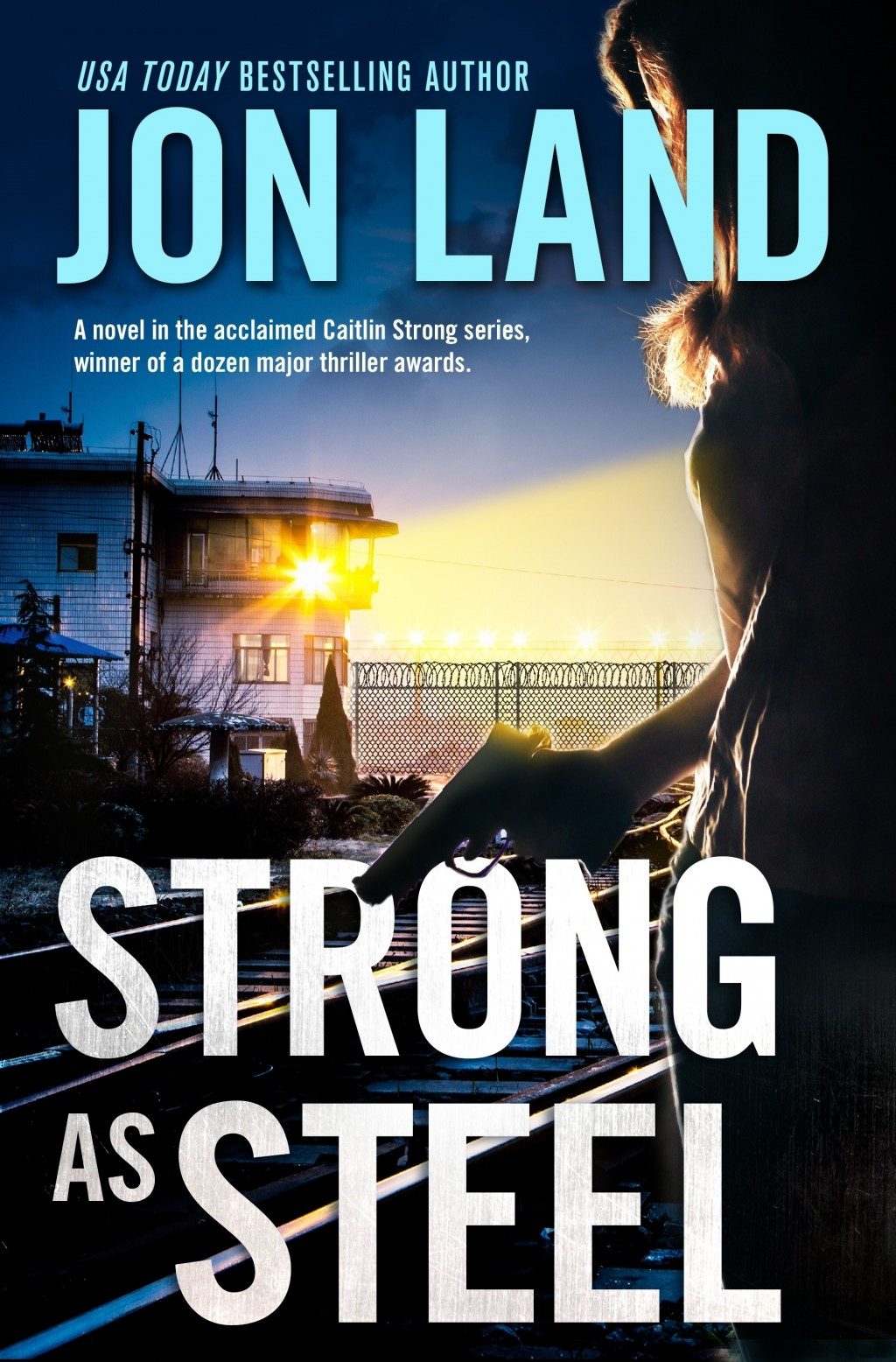 "This cover image released by Forge shows ""Strong As Steel,"" by Jon Land. (Forge via AP)"