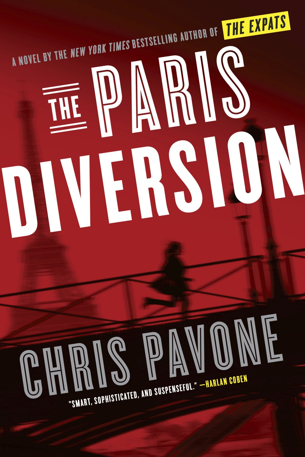 """This cover image released by Crown shows """"The Paris Diversion,"""" by Chris Pavone. (Crown via AP)"""