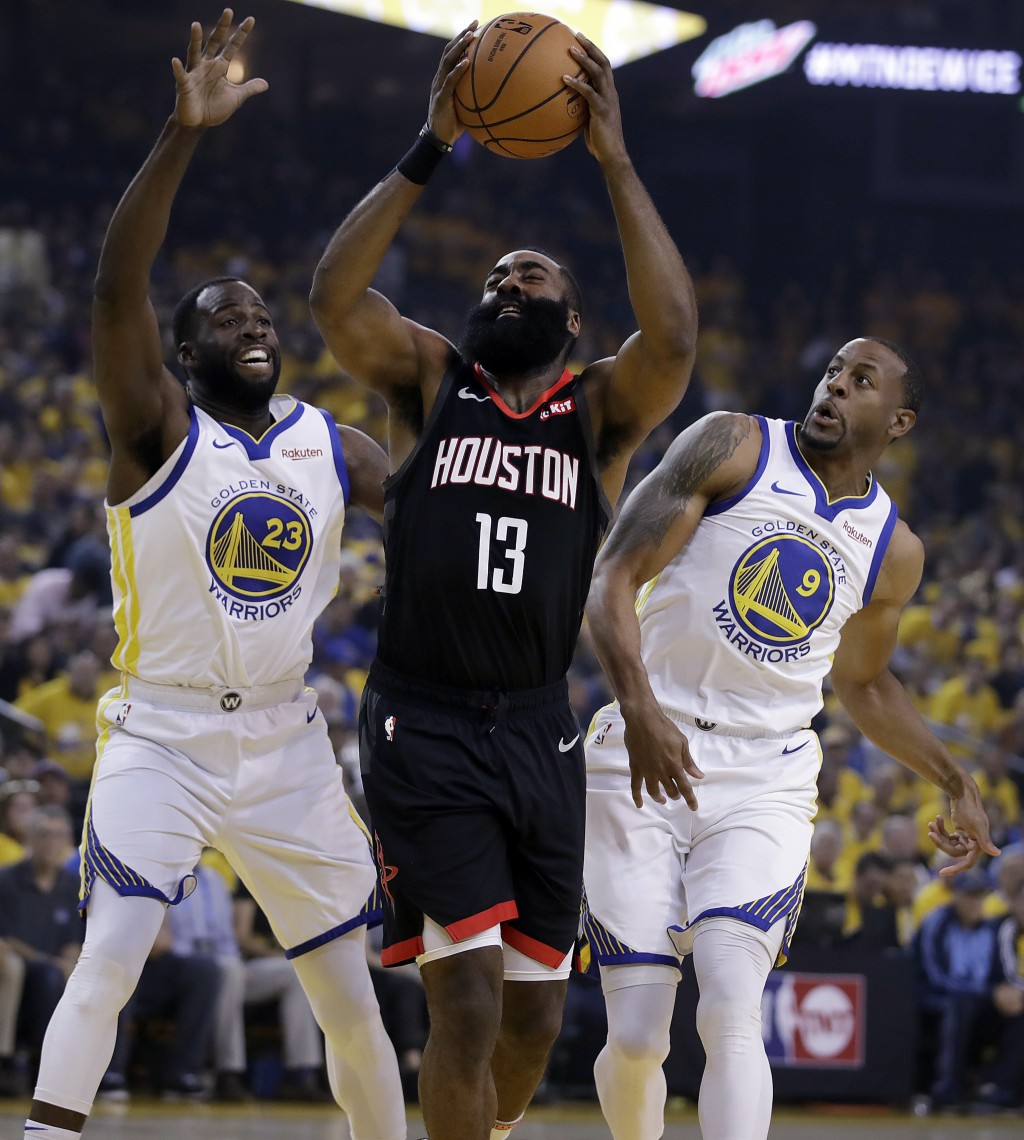 Durant Goes Down, Warriors Hold Off Rockets I...