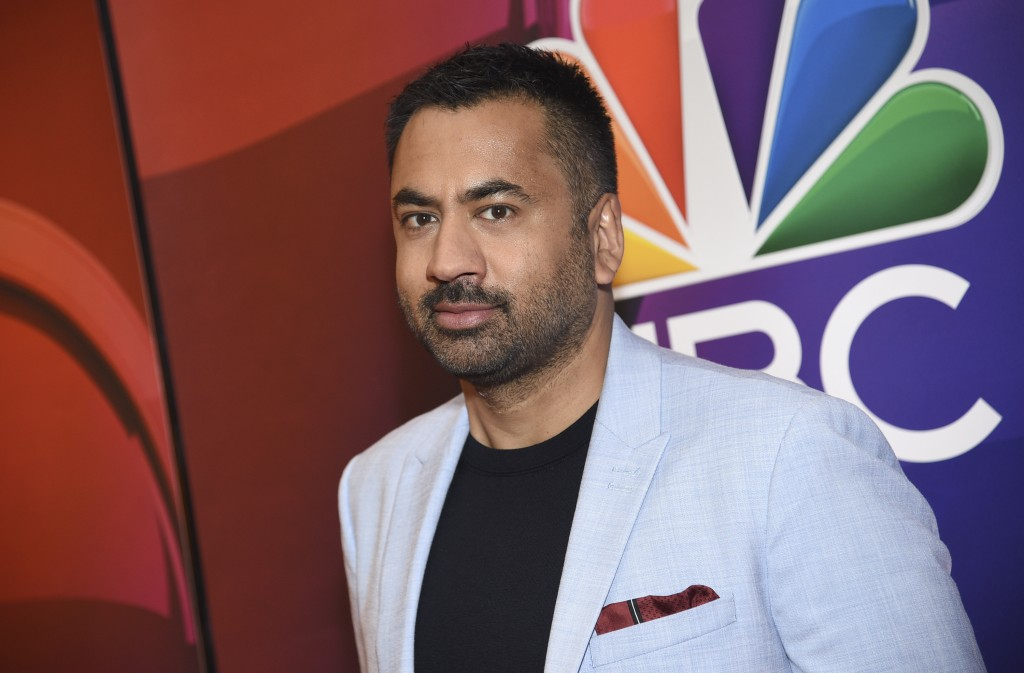 """Kal Penn, from the cast of """"Sunnyside,"""" attends the NBC 2019/2020 Upfront at The Four Seasons New York on Monday, May 13, 2019. (Photo by Evan Agostin..."""