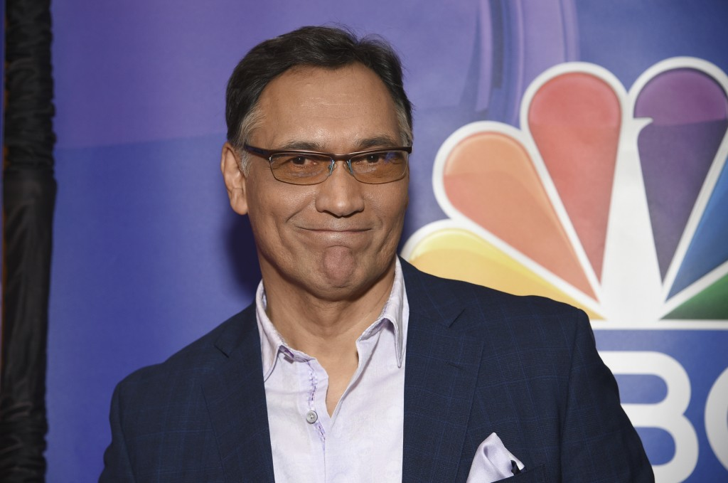 """Jimmy Smits, from the cast of """"Bluff City Law,"""" attends the NBC 2019/2020 Upfront at The Four Seasons New York on Monday, May 13, 2019. (Photo by Evan"""