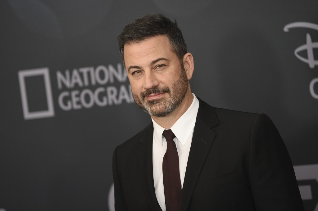 Jimmy Kimmel attends the Walt Disney Television 2019 upfront at Tavern on The Green on Tuesday, May 14, 2019, in New York. (Photo by Evan Agostini/Inv