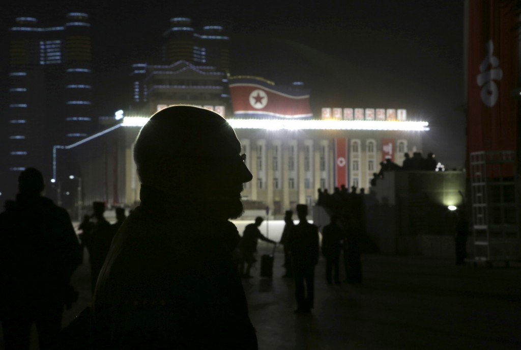 In this Saturday, Oct. 10, 2015 photo The Associated Press' North Korea Bureau Chief Eric Talmadge stands in the North Korean capital of Pyongyang as ...