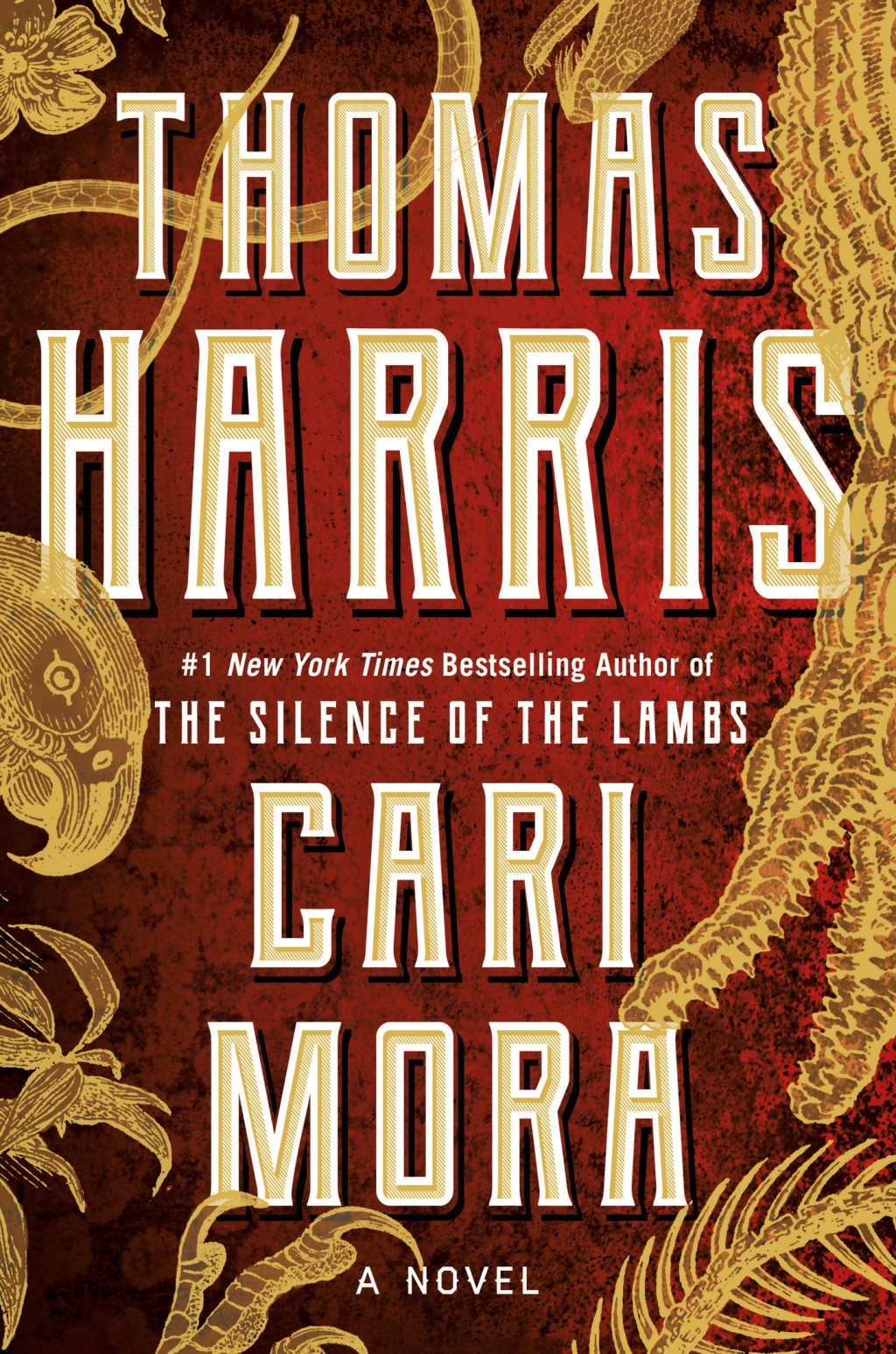 """This cover image released by Grand Central shows """"Cari Mora,"""" a novel by Thomas Harris. (Grand Central via AP)"""