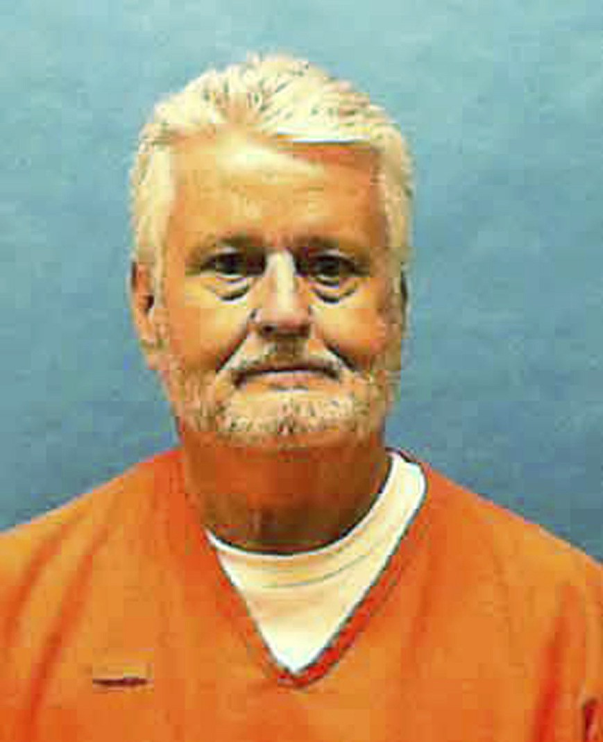 In this updated photo made available by the Florida Department of Law Enforcement shows Bobby Joe Long in custody. Long, is scheduled to be executed T...