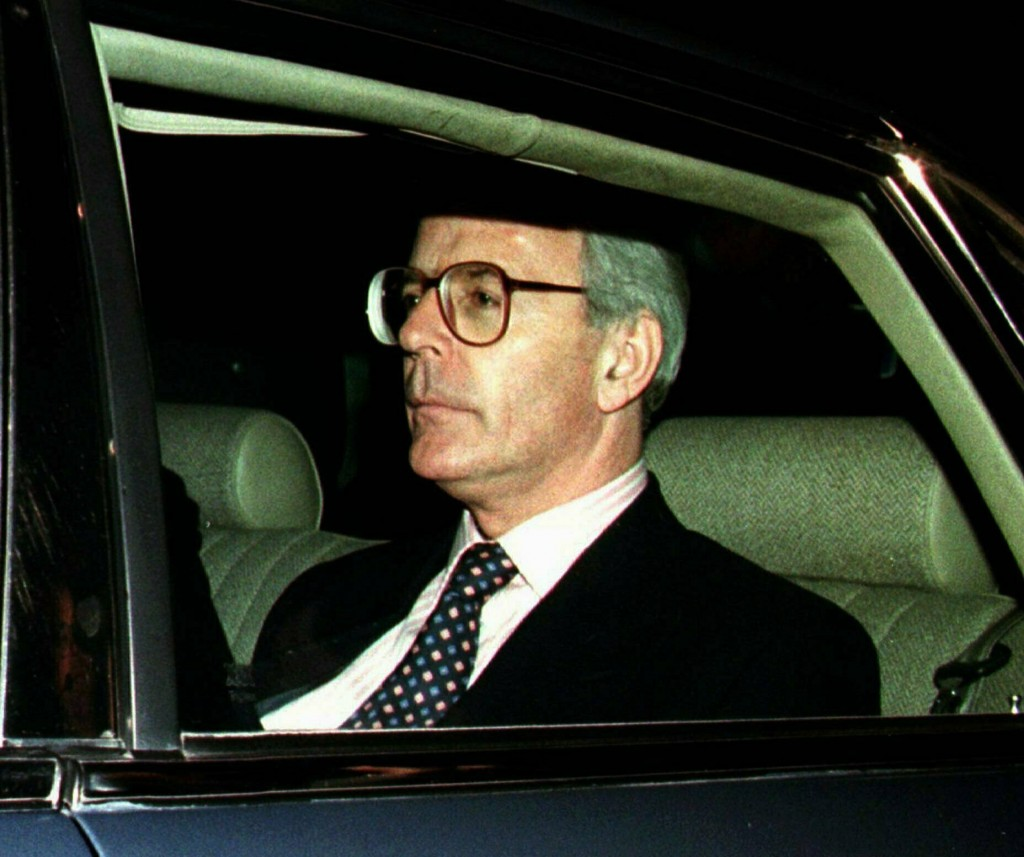 FILE - In this Friday May 2, 1997 file photo, Brit...