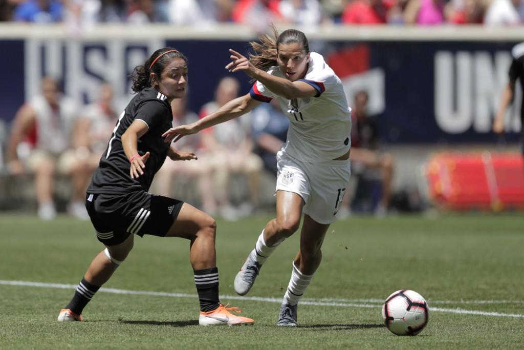 US women beat Mexico 3-0 in unimpressive Worl    | Taiwan News