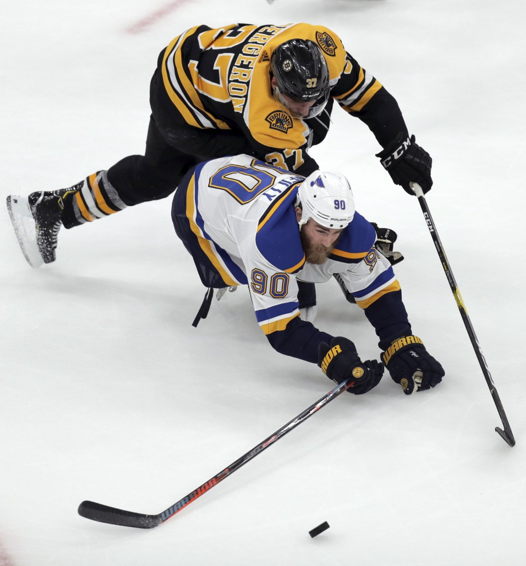 The Latest: Bergeron Expected To Play In Game...