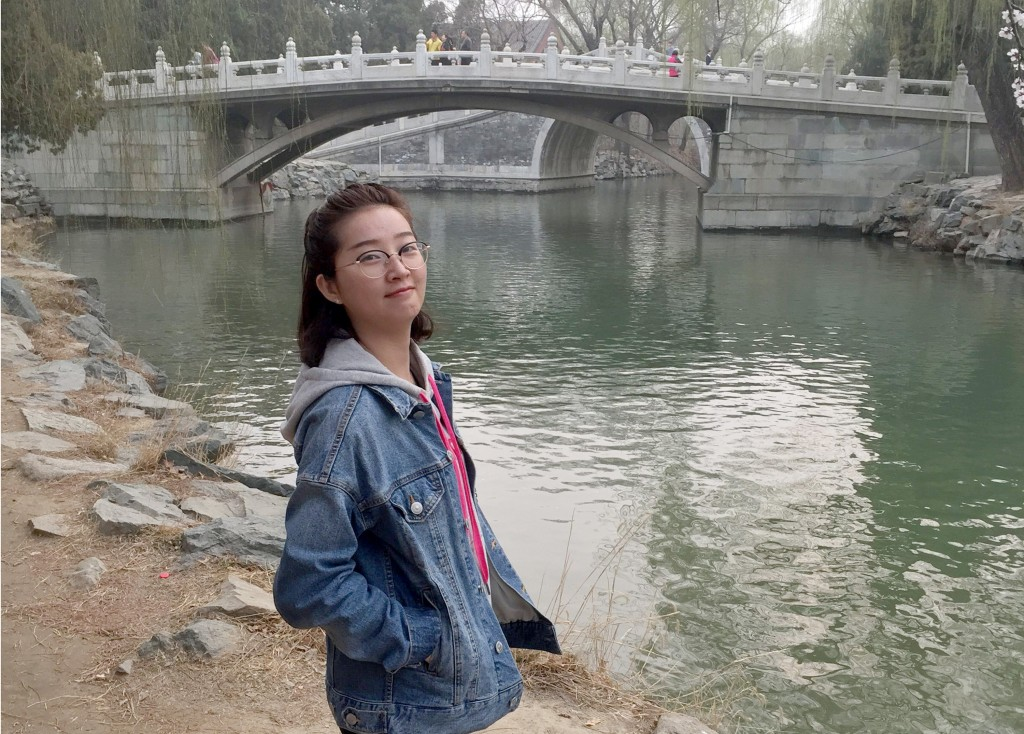 This undated photo provided by the University of Illinois Police Department shows Yingying Zhang. The parents of the visiting University of Illinois s
