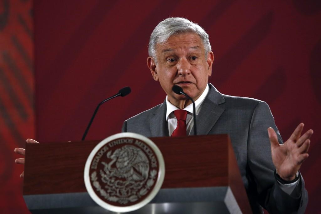 Mexico's President Andrés Manuel López Obrador says Mexico will not respond to U.S. President Donald Trump's threat of coercive tariffs with desperati...