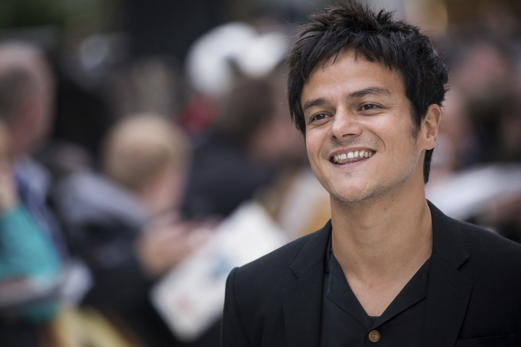 FILE - In this Sept. 18, 2018 file photo, musician Jamie Cullum poses for photographers upon arrival at the World premiere of the film 'King of Thieve...