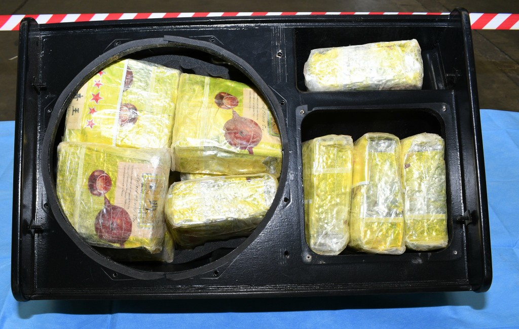 This image released on Friday, June 7, 2019 by Australian Federal Police, shows methamphetamine seized by Australian Border Force. Australian official...