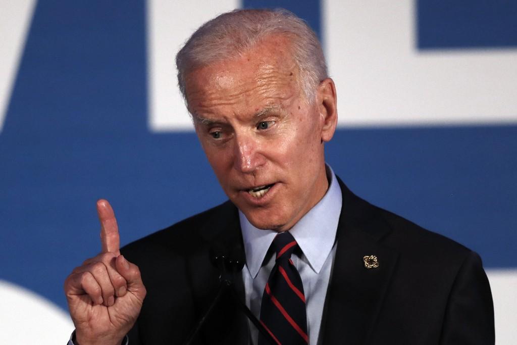 Democratic presidential candidate former Vice President Joe Biden speaks during the I Will Vote Fundraising Gala Thursday, June 6, 2019, in Atlanta. (...