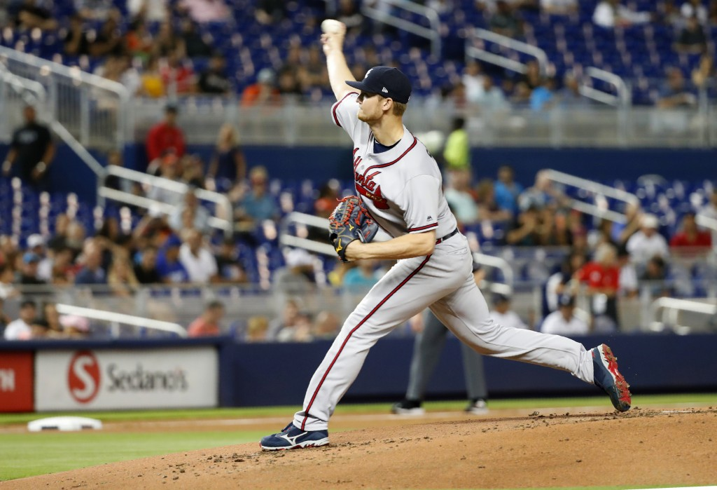 Outstanding pitching leads the Braves to 1-0 win