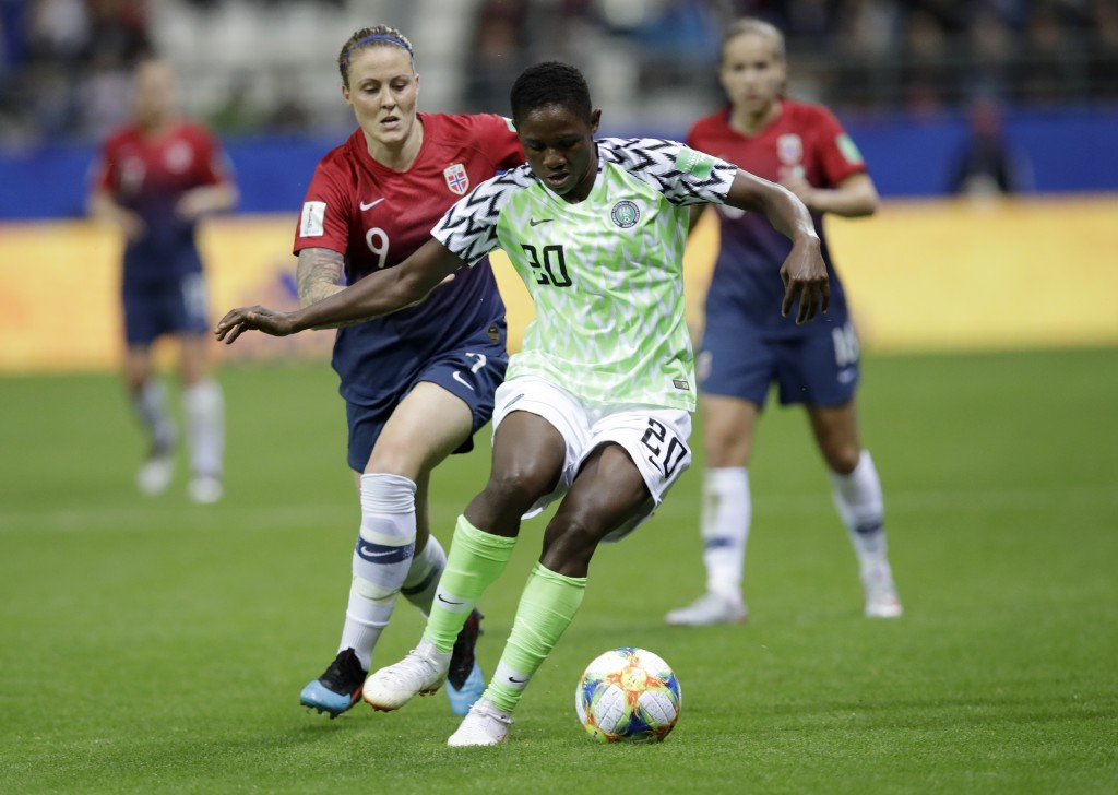 Image result for Chidinma Okeke norway 2019 world cup