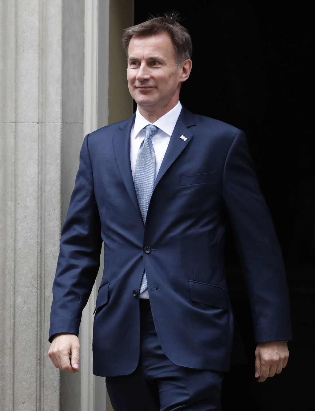 Jeremy Hunt Britain's Secretary of State for Foreign and Commonwealth Affairs leaves 10 Downing Street following a cabinet meeting in London, Tuesday,