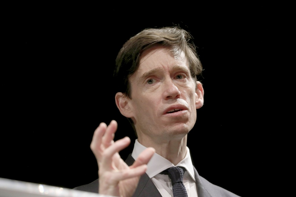 Britain's Conservative MP Rory Stewart launches his campaign to become leader of the Conservative and Unionist Party and Prime Minister at the Underbe