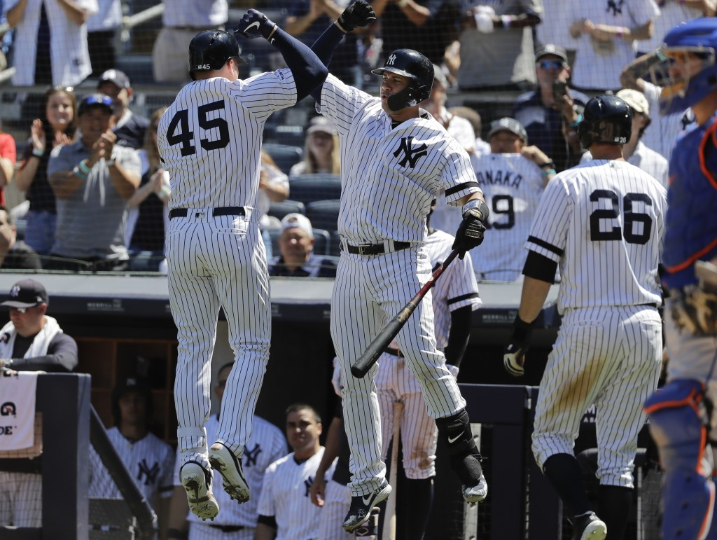 new concept cce1a 1d6a1 Voit, Ursela lead Yanks over Mets 12-5 in twi... | Taiwan News