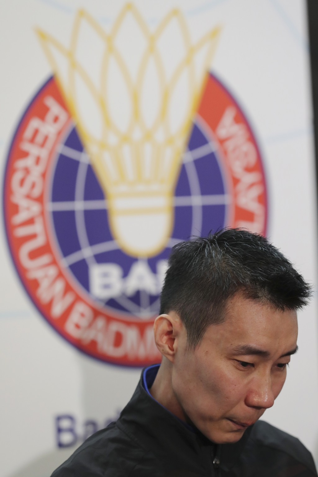 Malaysian badminton player Lee Chong Wei speaks during a press conference in Putrajaya, Malaysia, Thursday, June 13, 2019. Former World No. 1-ranked L