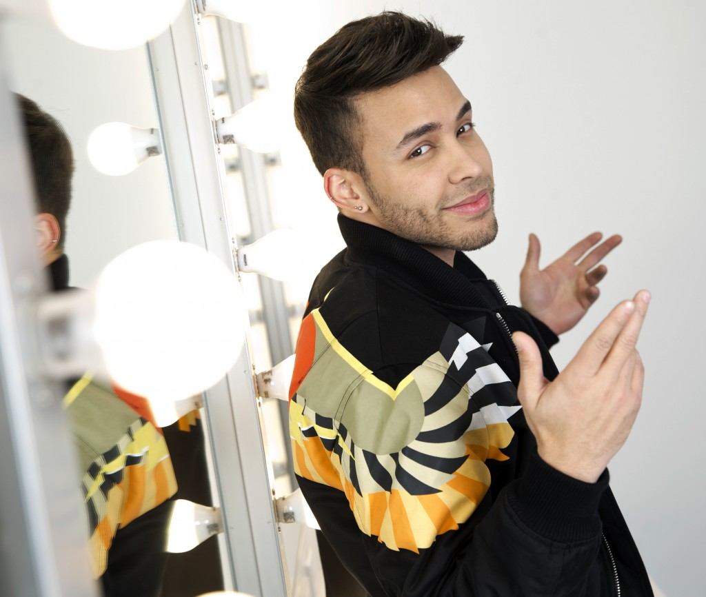 FILE - In this Monday, Feb. 27, 2017, file photo, singer Prince Royce poses for a portrait in New York. Royce says he's looking forward to headlining ...