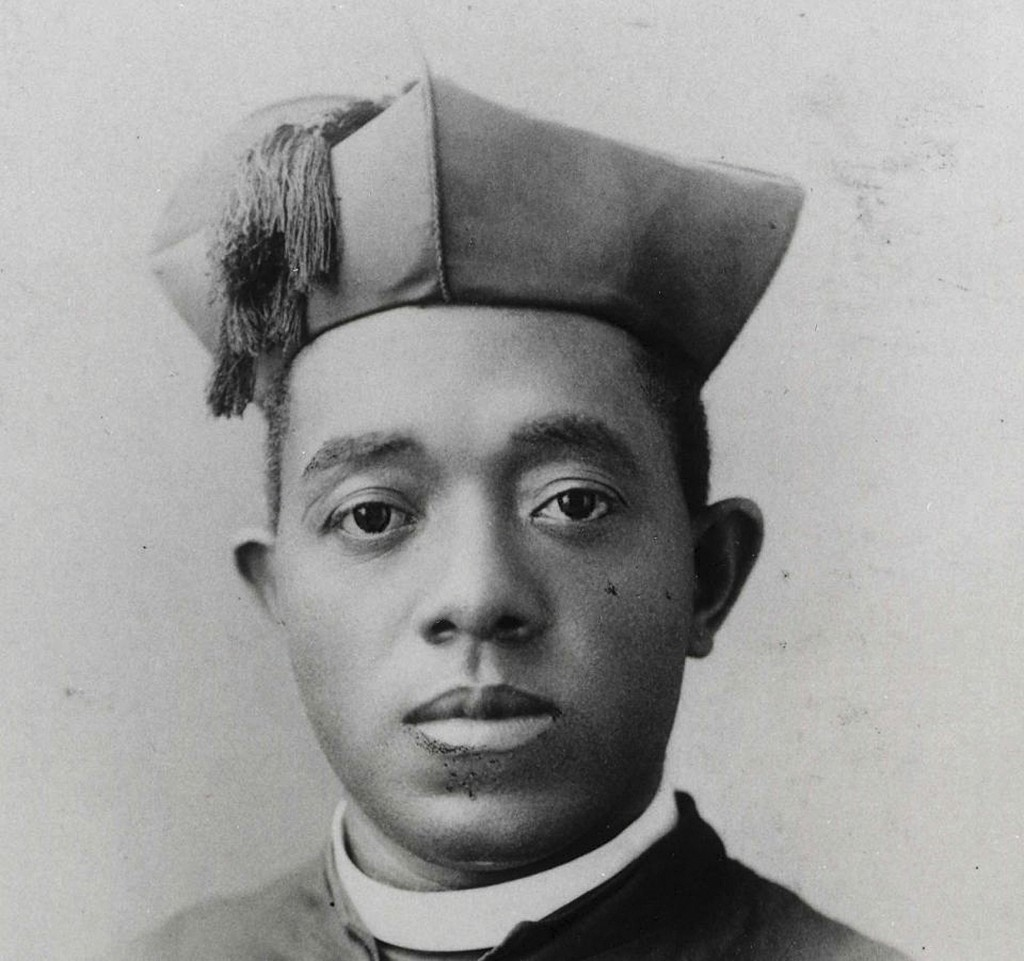This undated photo courtesy of the Diocese of Springfield in Springfield, Ill., shows Quincy's Father Augustine Tolton. Pope Francis has positioned fo...