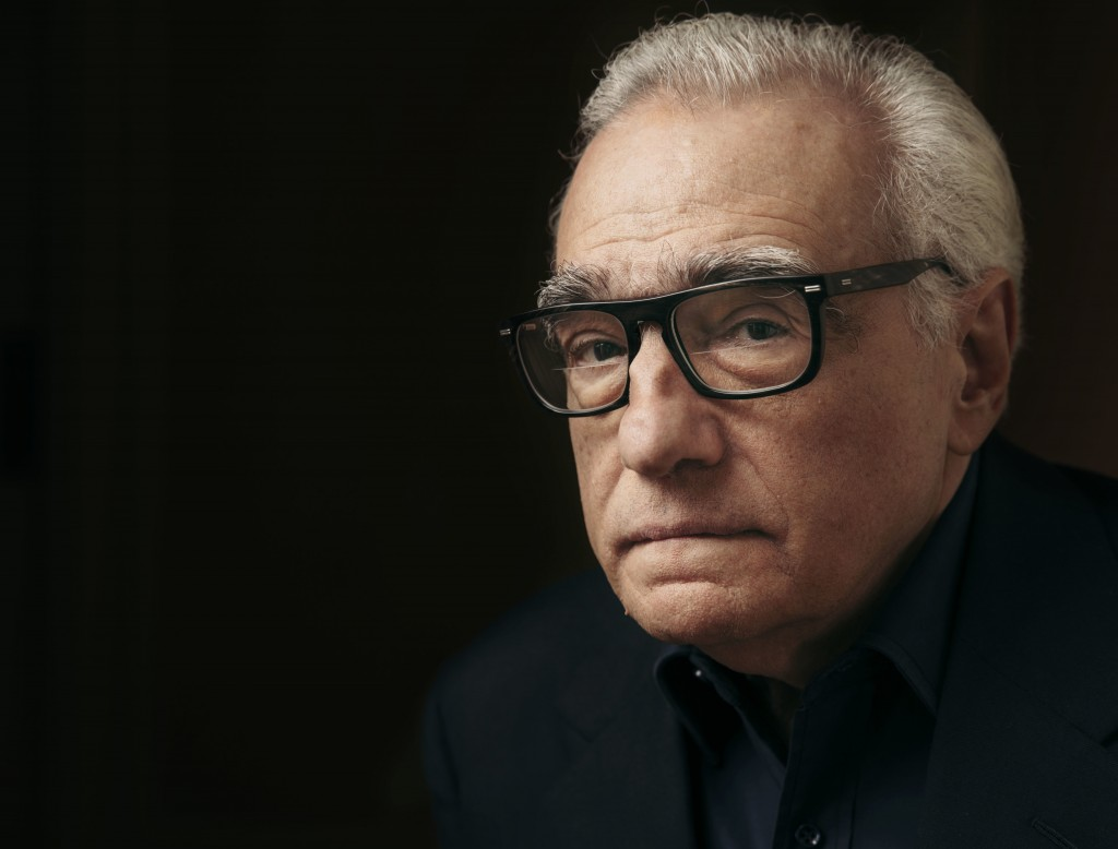 "FILE- In this Dec. 9, 2016 file photo, producer and director Martin Scorsese poses for a portrait in New York.  Scorsese's latest film, ""Rolling Thund..."