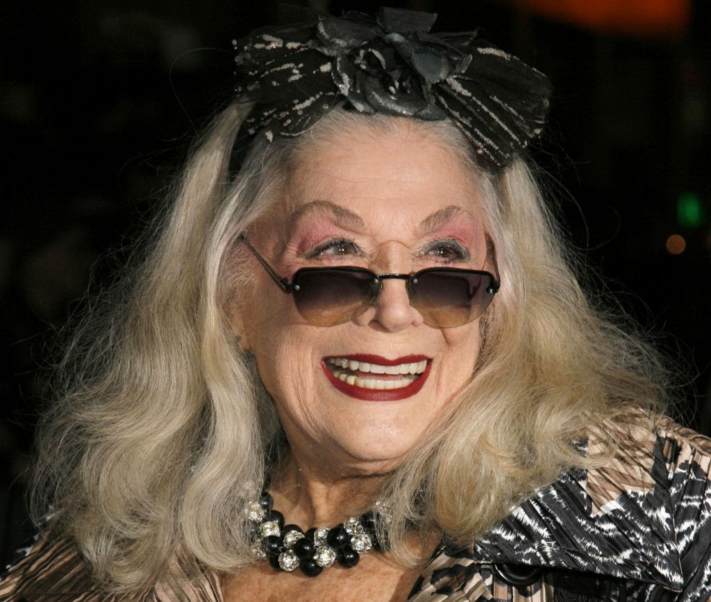 FILE - In this Sunday, Jan. 7, 2007, file photo, Sylvia Miles arrives for the 2006 New York Film Critic's Circle Awards at the Supper Club in New York