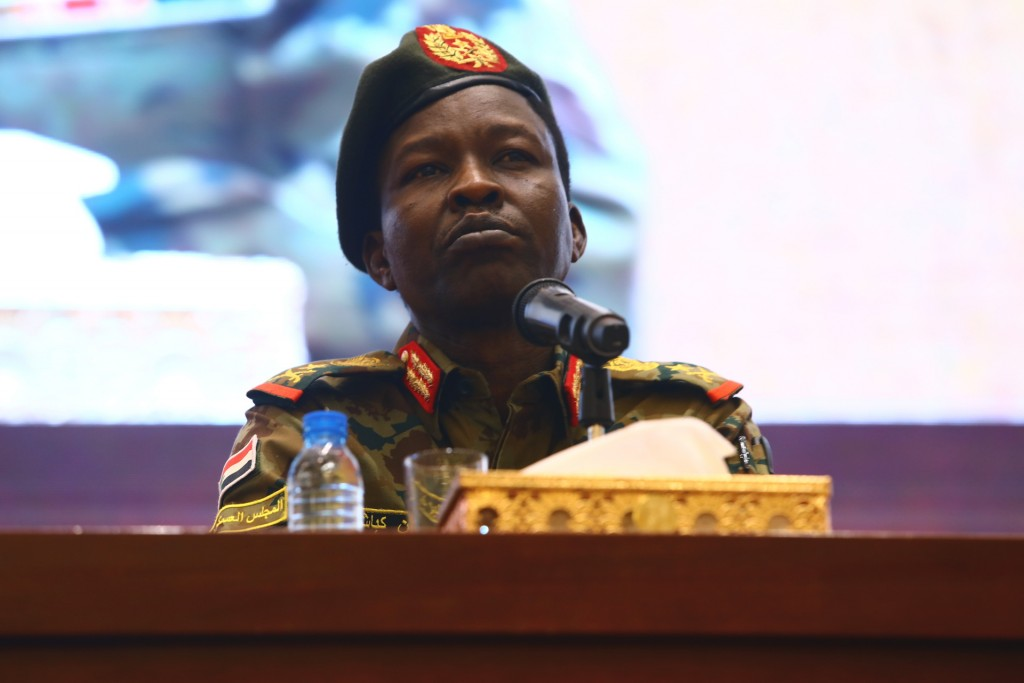 Sudan's ruling Military Council spokesperson Shams...