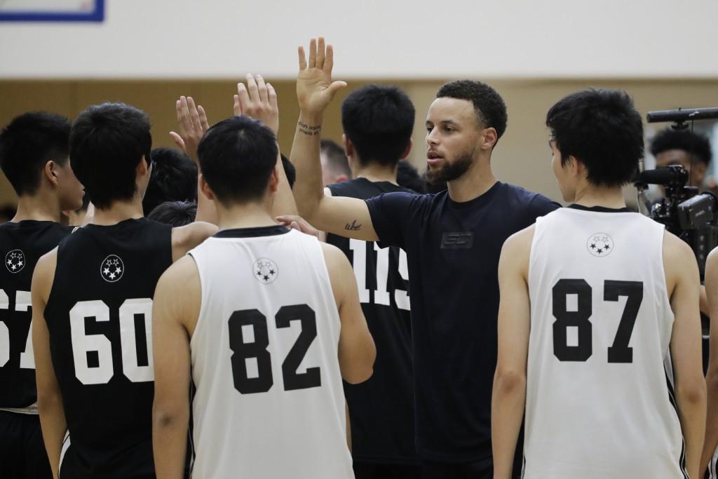 buy popular fbd15 0bdbf Curry in Japan to talk Tokyo Olympics, Rui Ha...   Taiwan News