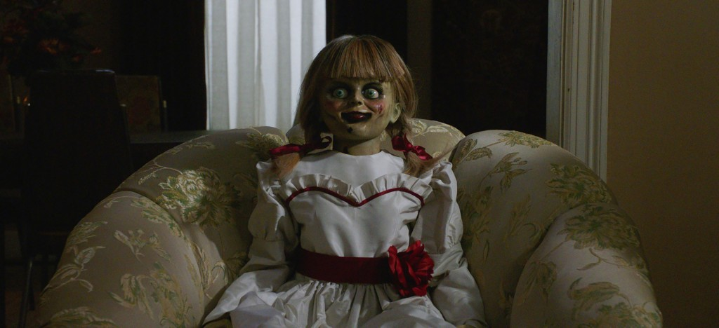 """This image released by Warner Bros. Pictures shows a scene from the horror film, """"Annabelle Comes Home."""" (Warner Bros. Pictures via AP)"""