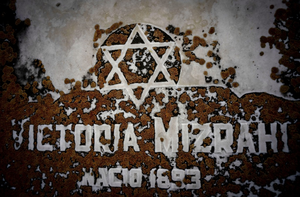 The Star of David decorates a tomb eroded by moss at the Jewish cemetery in Guanabacoa in eastern Havana, Cuba, June 7, 2019. Slowly, the first Jewish...