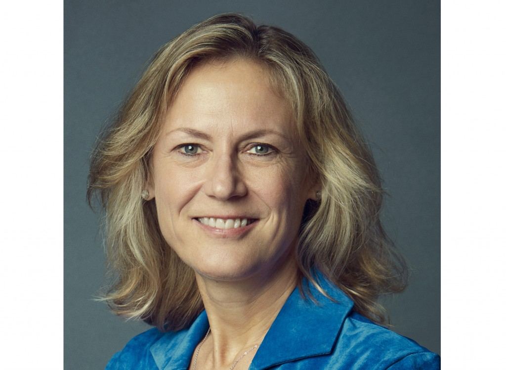 This undated image released by WarnerMedia shows BBC executive Ann Sarnoff who was named CEO of of WarnerMedia. Sarnoff replaces former studio chief K...