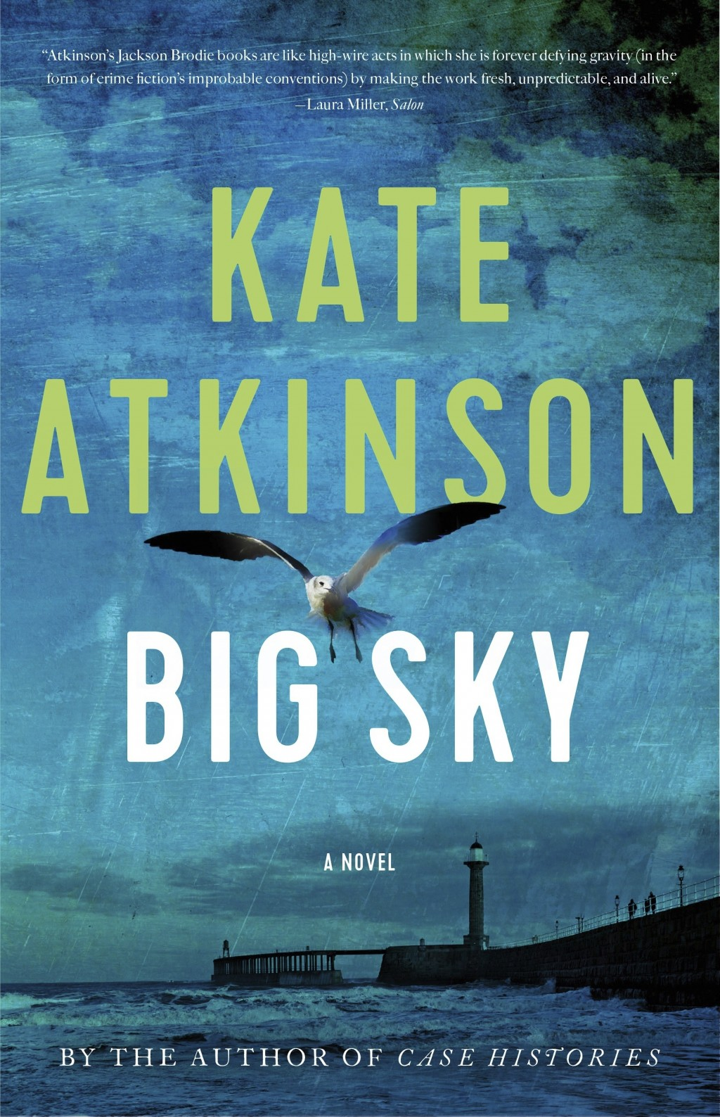 "This cover image released by Little, Brown and Company shows ""Big Sky,"" a novel by Kate Atkinson. (Little, Brown and Company via AP)"