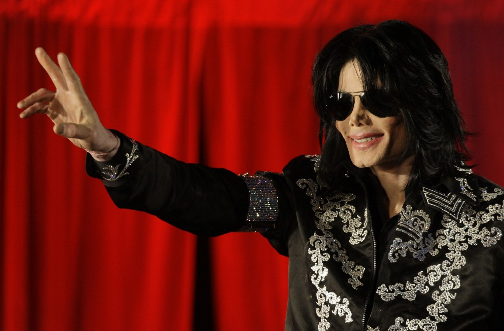 FILE - This March 5, 2009 file photo shows Michael Jackson as he announces ten live concerts at the London O2 Arena in south London. Tuesday, June 25,...