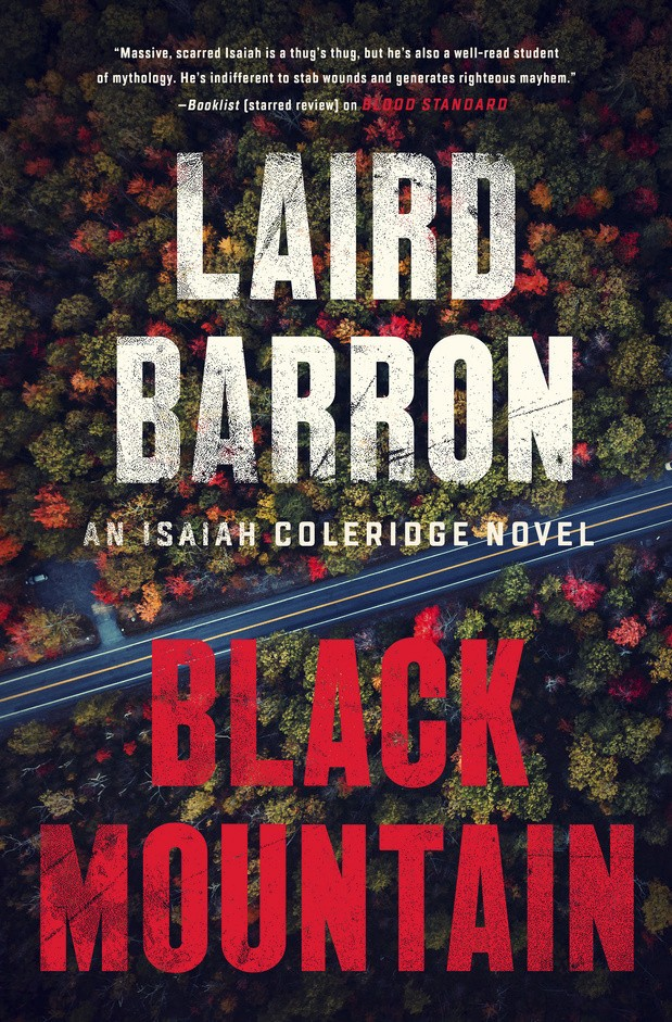 "This book cover image released by Putnam shows ""Black Mountain,"" by Laird Barron. (Putnam via AP)"