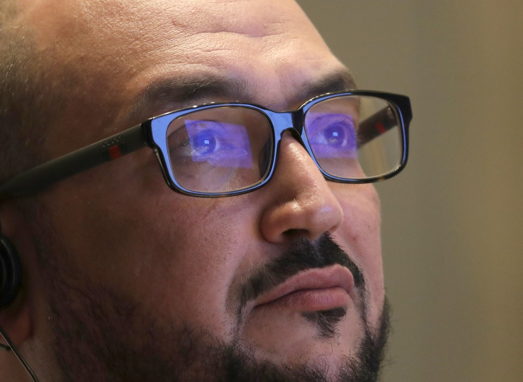 Sultan Mofti, deputy governor for Investment Attraction & Development of the Saudi Arabian General Investment Authority, listens during a partnership ...