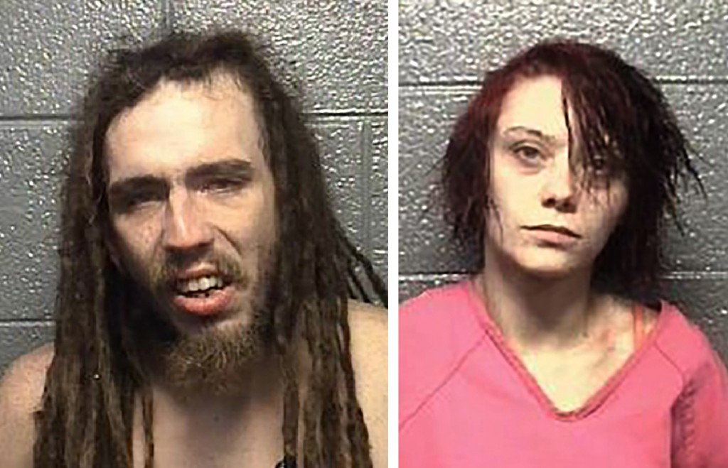 Eugene Chandler Jr. and Shaleigh Brumfield are seen in photos provided by the Danville, Va  Police Department. A grand jury in Danville, Virginia, ind...