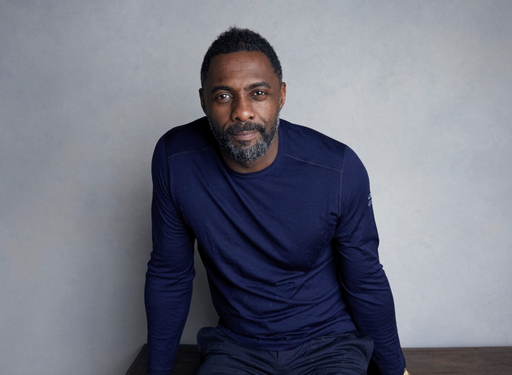 FILE - This Jan. 21, 2018 file photo shows actor-director Idris Elba at the Music Lodge during the Sundance Film Festival in Park City, Utah. Elba con...