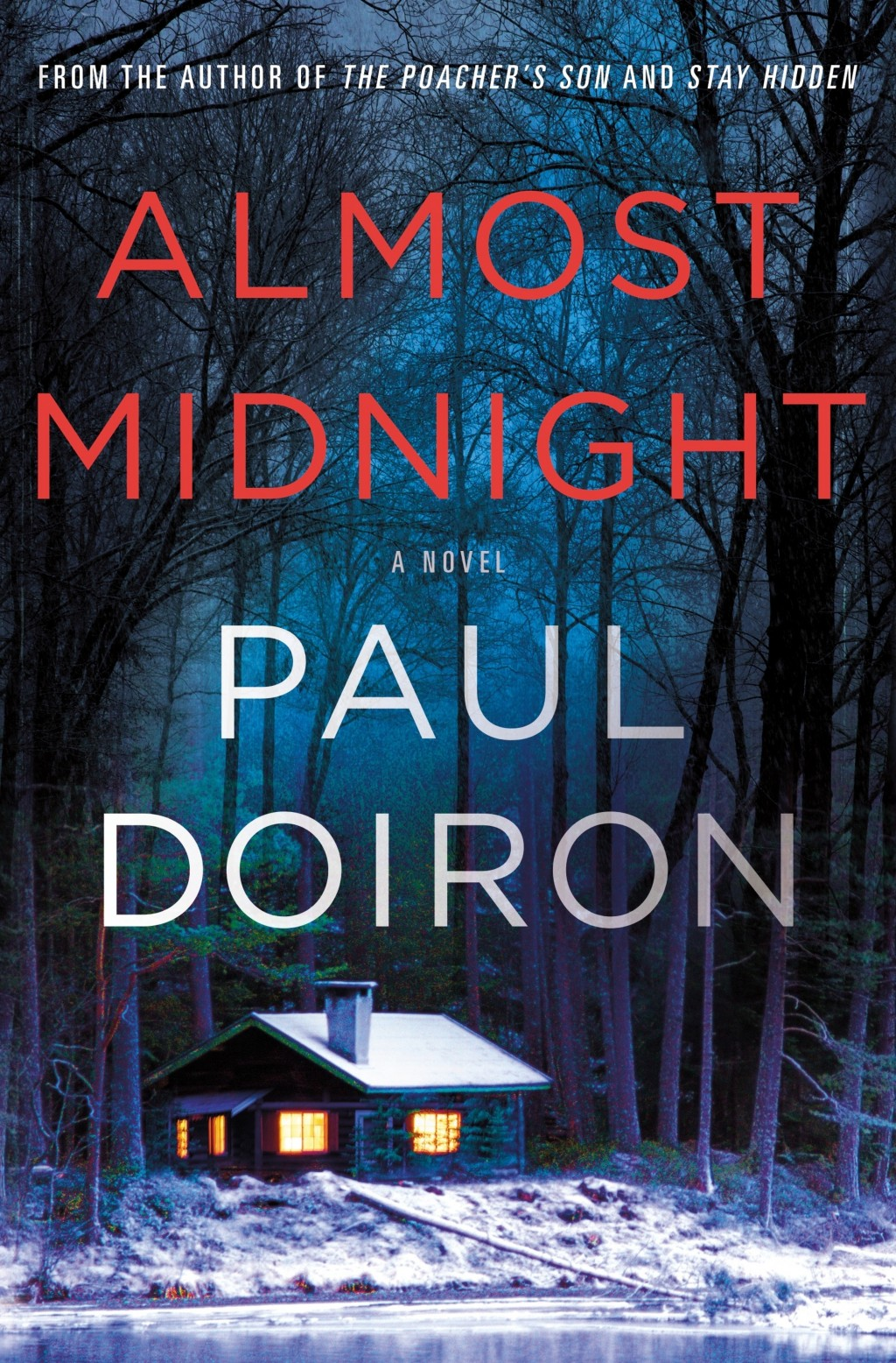 """This cover image released by Minotaur shows """"Almost Midnight,"""" a novel by Paul Doiron. (Minotaur via AP)"""